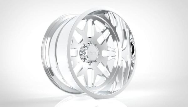 (4) 26x14 JTX Forged Polished Ricochet Wheels For Chevy GMC Ford Dodge Toyota