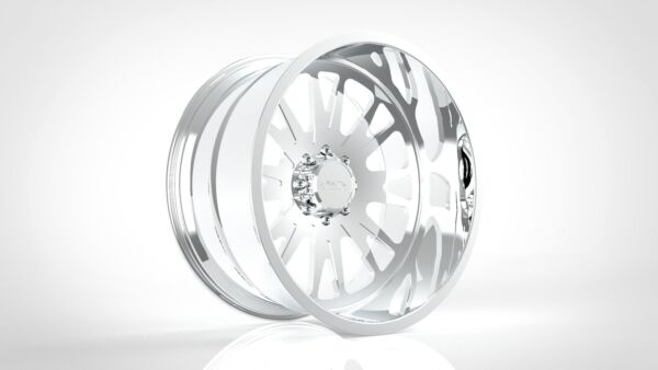 (4) 26x12 JTX Forged Polished Ballistic Wheels For Chevy GMC Ford Dodge Toyota