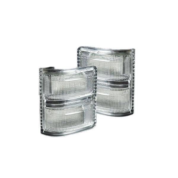 Recon Clear Lens Amber LED Mirror Lights For 2008-2016 Ford Super Duty F-Series