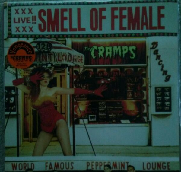 The CRAMPS Smell Of Female Original 1983 US EP sealed