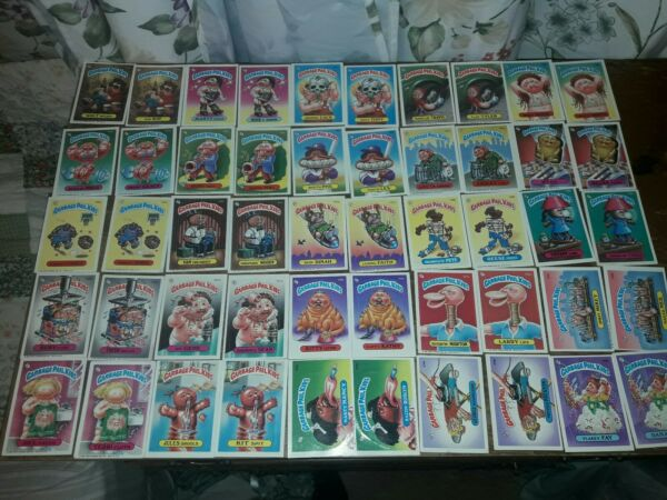 LOT (78) ASSORTED GARBAGE PAIL KIDS AUTHENTIC CARDS (A&B cards)