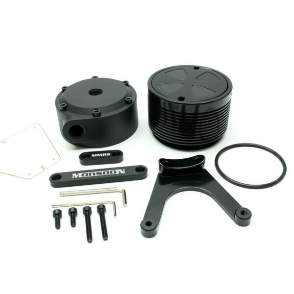 Monsoon MMRS Stand alone D5 Pump Top Cover and Mount Matte Black $45.32