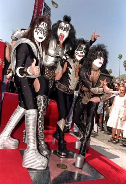 Kiss Band Rock Concert  8x10 Picture Celebrity Print
