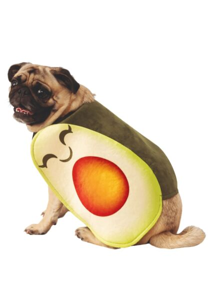 Adorable Avocado Costume for Dogs $24.98