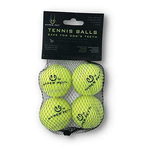 Hyper Pet Tennis Balls For Dogs (Pet Safe Dog Toys for Mini - 4 Pack Green $9.66
