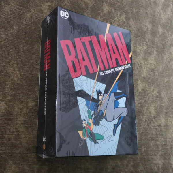 Batman The Complete Animated Series 12 DVD Region 1 US Box Set Brand New