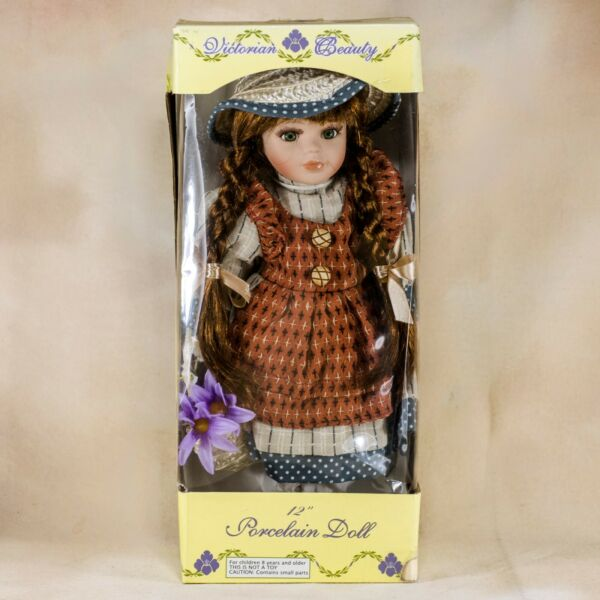 Collector's Porcelain Girl Doll 12