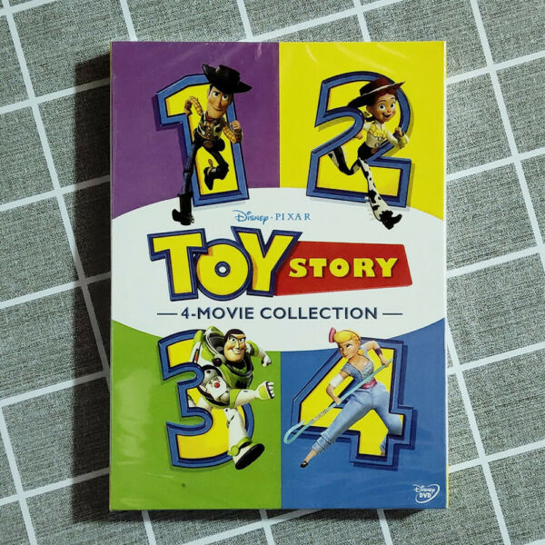 Toy Story I II III amp; IV DVD 1234 1 4 Complete Collection Movie Fast shipping $14.99