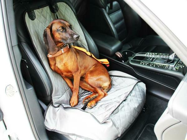 Cover quot; Tantum quot; Grey for Car Seats Front Dogs Seat Cover Protective Cover Cover $25.29