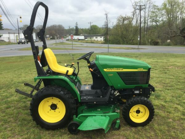 Very Nice John Deere 4010 4X4 Mower Tractor with Only 542 Hours