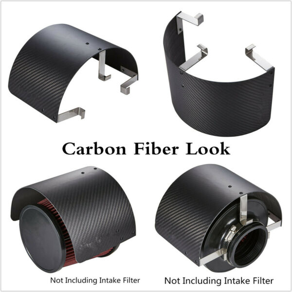Air Intake Filter Heat Shield Cover For Racing Car 2.5quot; To 5.5quot; Filter Universal $32.30