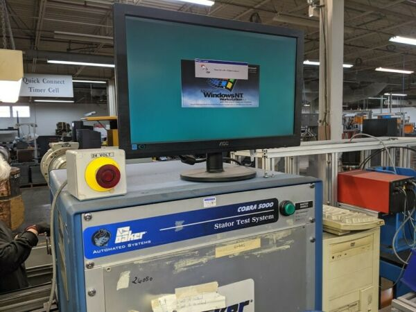 Cobra 5000 Stator Test Station Baker Automated Systems 120V