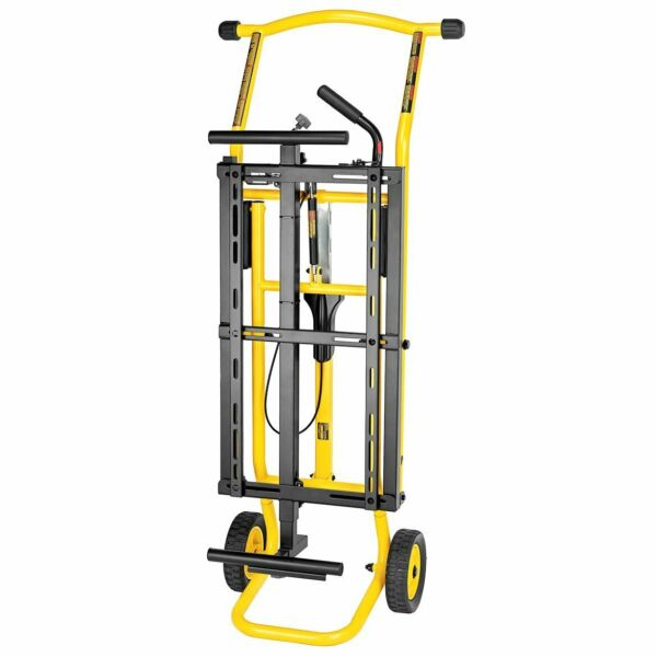 DeWALT DWX726 Portable Rolling Miter Saw Stand W In Out Feeds