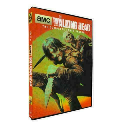 The Walking Dead season 10 (DVD 5-Disc Set) New Sealed. Free and Fast Shipping!