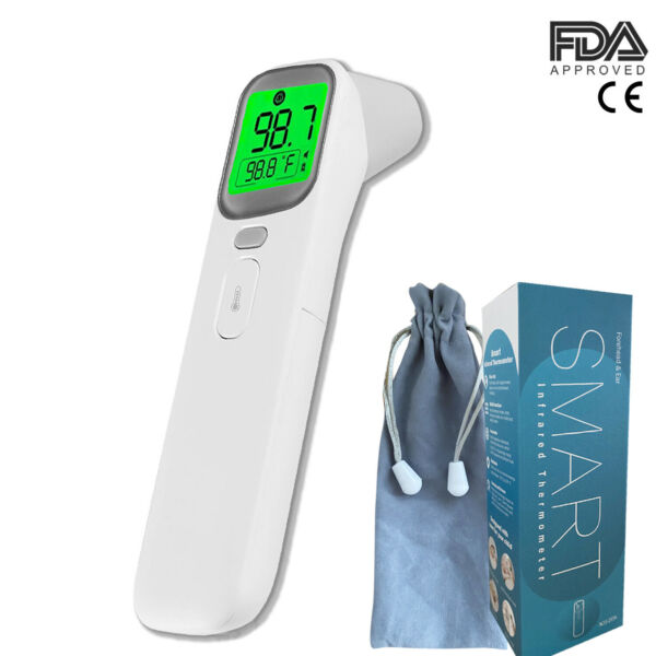 Medical Grade NON-CONTACT Infrared Forehead Thermometer BabyAdult(FDA approved)