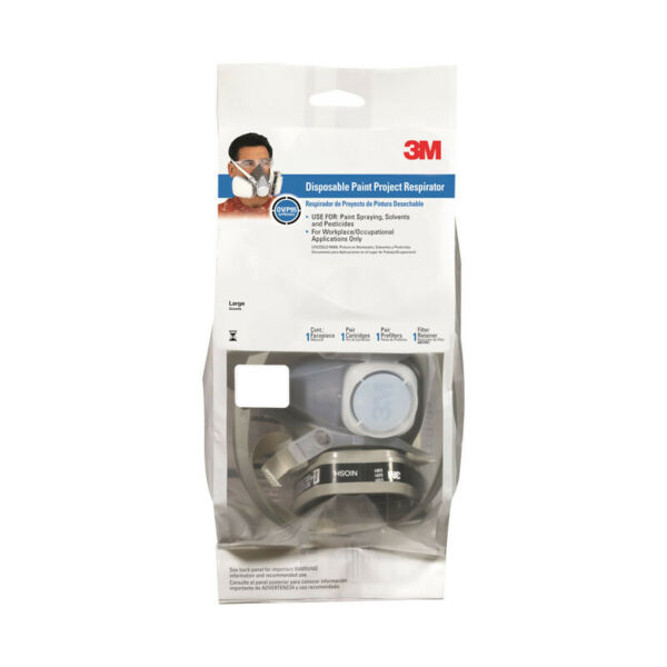 3M HALF FACE RESPIRATOR - LARGE -5000 SERIES-FAST SHIPPING