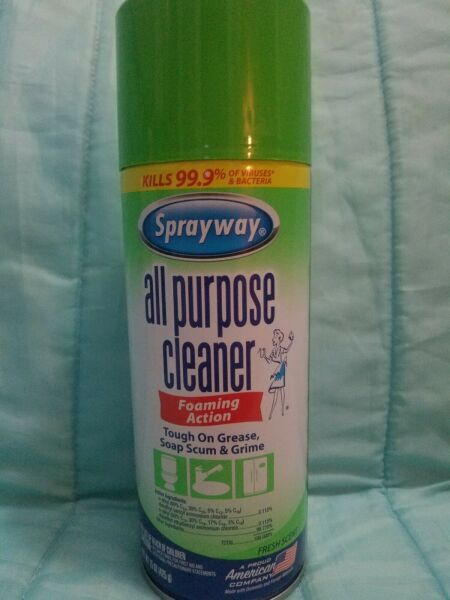 House hold cleaning supplies Spray away brand