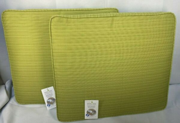Loft 2 piece Outdoor Replacement Patio Cushion Set TARGET 19X17X3 INCH NEW $49.99