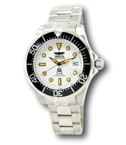 Invicta Pro Diver Automatic 10640 Men's 47mm Luminous Dial Stainless Watch $152.61