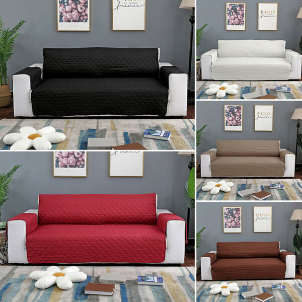 Waterproof Sofa Slip Cover 1 2 3 Seater Pet Dog Furniture Couch Protector Throw $64.99