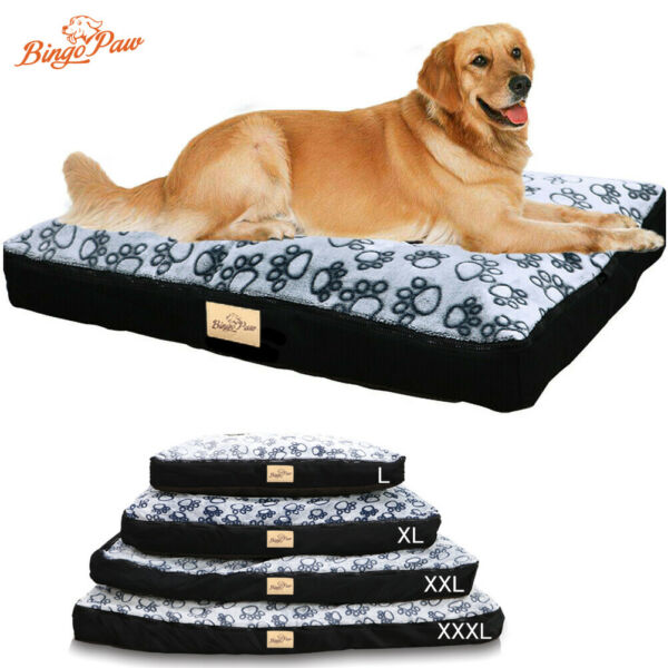 Waterproof Jumbo XL Pet Bed for Large Dog Orthopedic Mattress w Removable Cover $76.91
