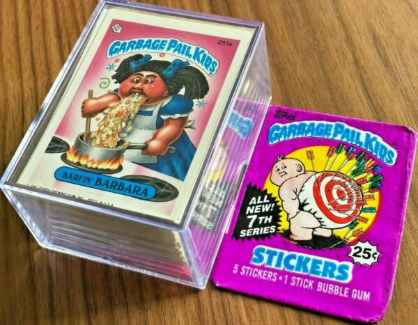 '87 Topps Garbage Pail Kids Original 7th Series 7 Complete MINT Card Set GPK OS7