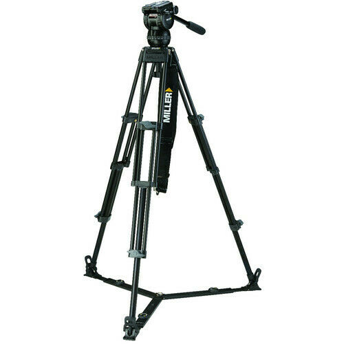 Miller CX8 Fluid Head with Toggle 2-Stage Alloy Tripod System (Ground Spreader)