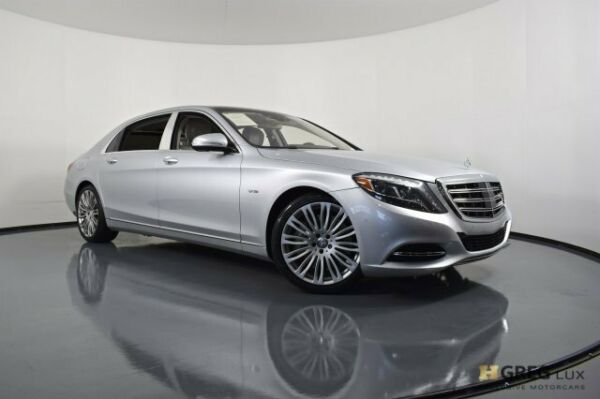 2016 Mercedes-Benz S-Class Maybach S 600 2016 Mercedes-Benz S-Class Maybach S 600 4dr Car Twin Turbo Premium Unleaded V-1