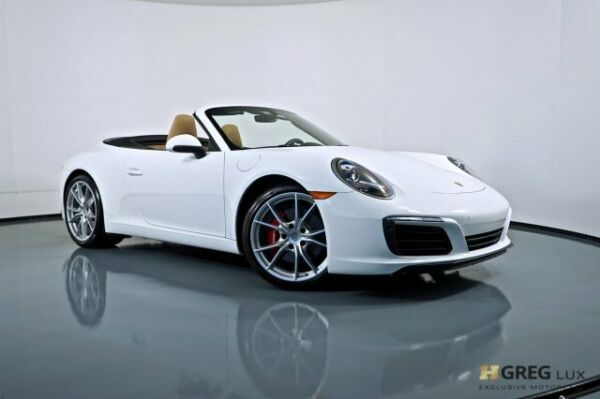 2018 Porsche 911 Carrera S 2018 Porsche 911 Carrera S Convertible Twin Turbo Premium Unleaded H-6 3.0 L182
