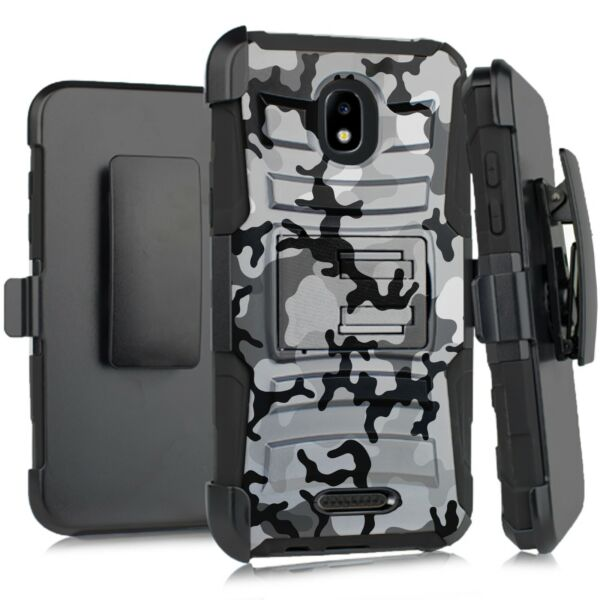 Holster Case For WIKO LIFE C210AE LIFE 2 U307AS Phone Cover GRAY STYLISH CAMO $13.99