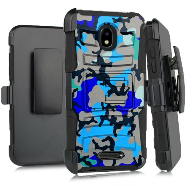 Holster Case For WIKO LIFE C210AE LIFE 2 U307AS Phone Cover BLUE STYLISH CAMO $13.99
