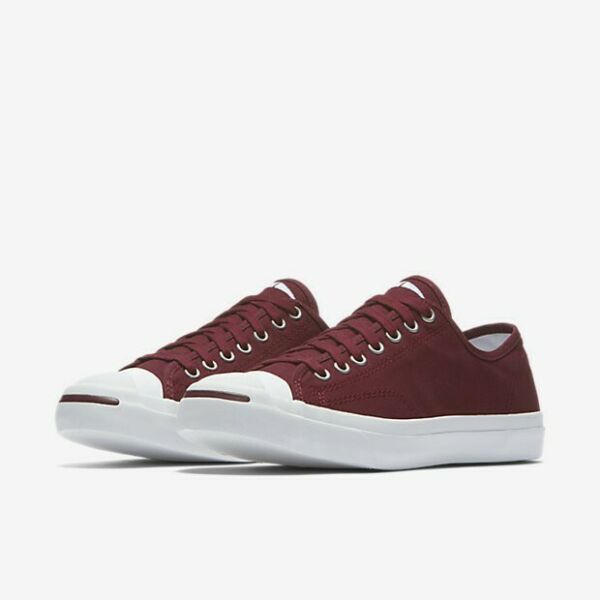 Men's Converse All-Star Jack Purcell Pro OX Low Burgundy Sneakers - New! | sz 9