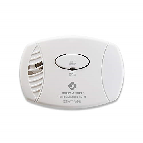 First Alert Carbon Monoxide Detector No Outlet Required Battery Operated $23.54