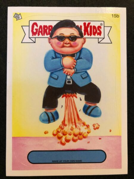 Garbage Pail Kids 2014 Series 1 Make Up Your Own Name (BLANK NAME) *PICK ONE*