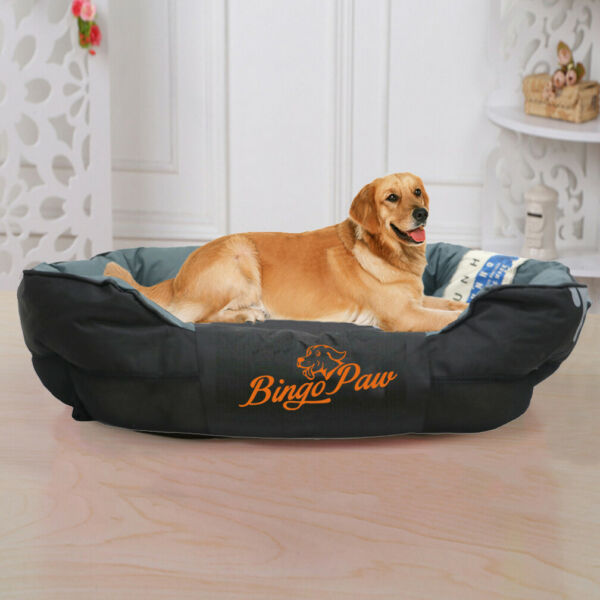 Waterproof Large Dog Bed Orthopedic Sofa Pet Bed Stuffed Pillow Kennel Huge XXL $83.91