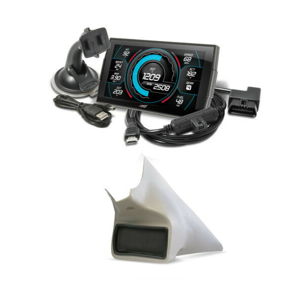 Edge Products Insight CTS3 Monitor & Mount For 2010-2018 Dodge Ram 2500 3500