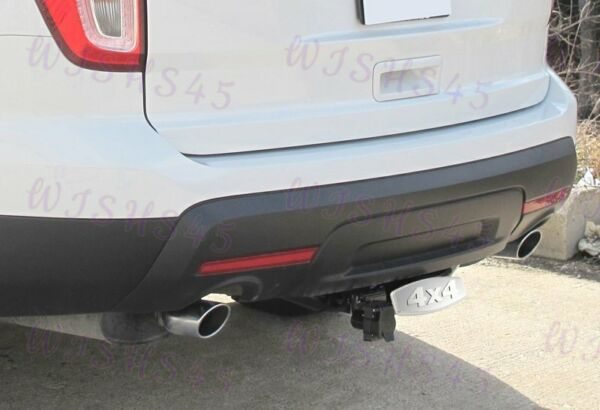 BULLY STAINLESS STEEL 4x4 Hitch Cover For GMC 3D 2quot; amp; 1.25quot; Trailer Tow Receiver $9.88