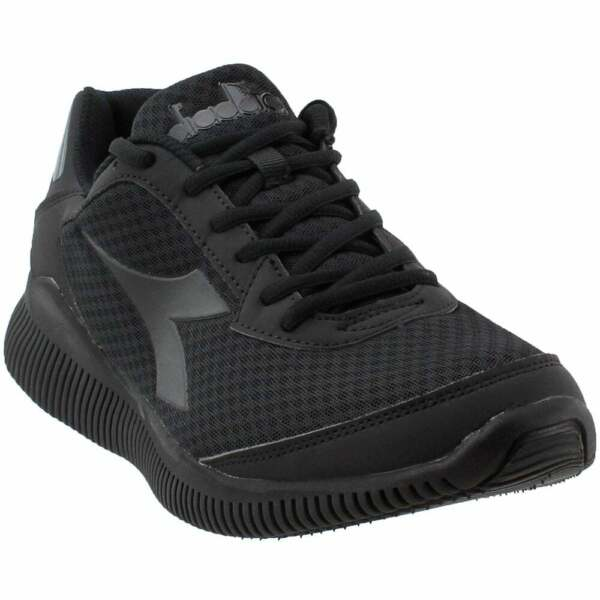 Diadora Eagle  Casual Running  Shoes - Black - Mens