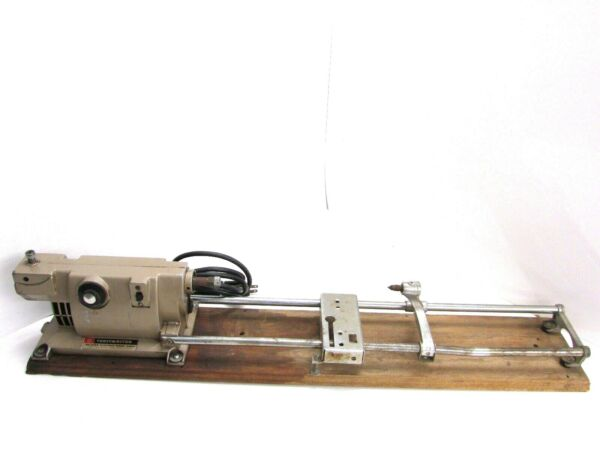 VINTAGE TOASTMASTER DELUXE ELECTRIC HOME SHOP LATHE SAW MODEL 5560 $49.99