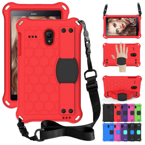 For Samsung Galaxy Tab A 4 E 8.0 inch Tablet Portable Holder Case with KickStand