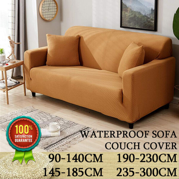 Waterproof Non Slip Slipcover Couch Cover Chair Sofa Cover Protector Pet Dog Mat $36.65