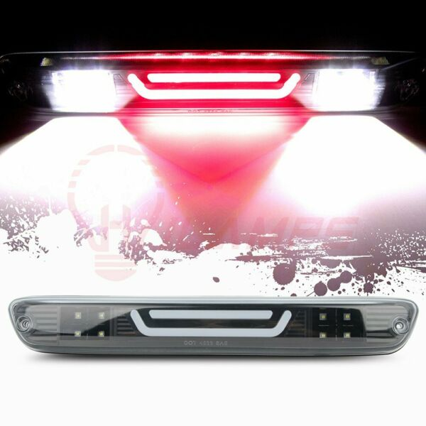 FOR 04 12 COLORADO CANYON LED BAR THIRD 3RD TAIL BRAKE LIGHT CARGO LAMP CLEAR