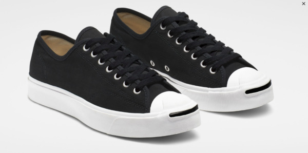 Converse All-Star Jack Purcell Pro OX Low Black Canvas Sneakers - New! | sz 9