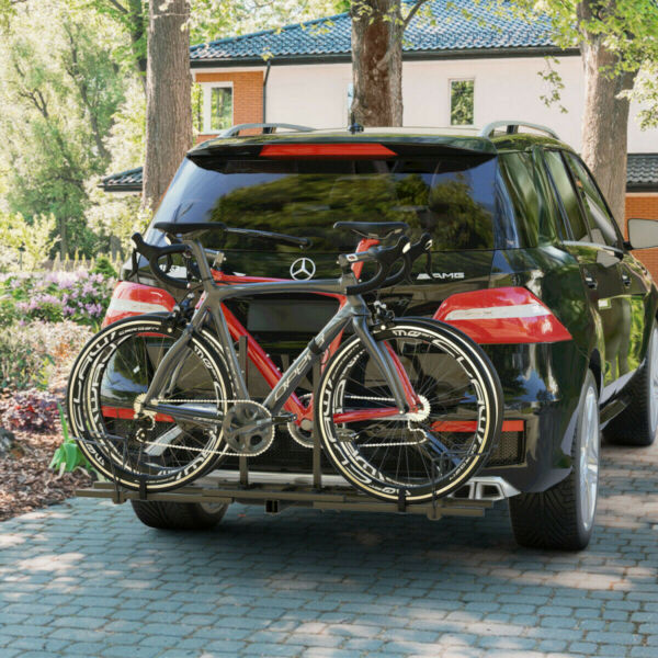 2 Bike Rack Car Truck RV SUVS Hitch Sturdy Mount Mountain Bicycle BMX Carrier $125.99