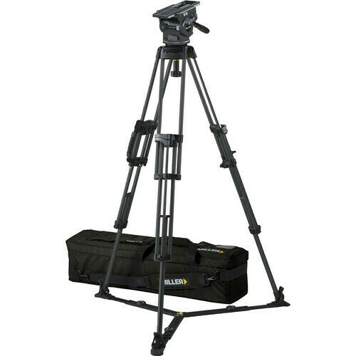 Miller CX8 Fluid Head with Solo 75 2-Stage Alloy Tripod System 3038