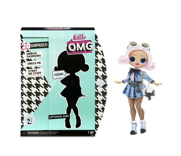 LOL Surprise OMG UPTOWN GIRL Series 2 Fashion Doll Sealed 20 Surprises New