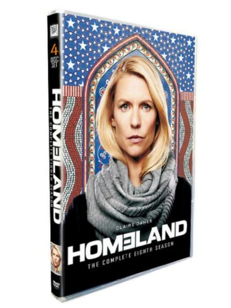 Homeland: Complete season 8 (DVD 4-Disc set)New Free Fast 1st Class Shipping!