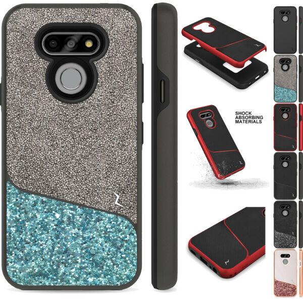 for LG Harmony 4 Premier Pro Plus Division Rugged Impact Protector Case Cover