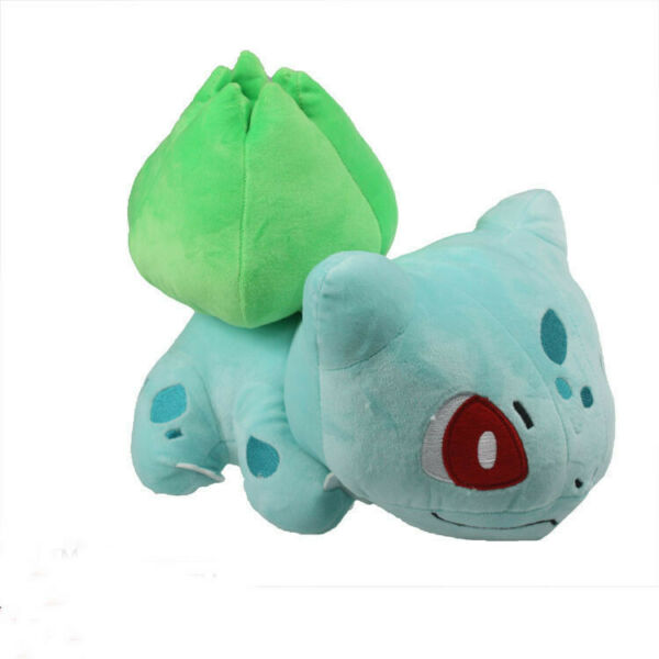 Pokemon Center Bulbasaur Plush Doll Soft Stuffed Toy 5