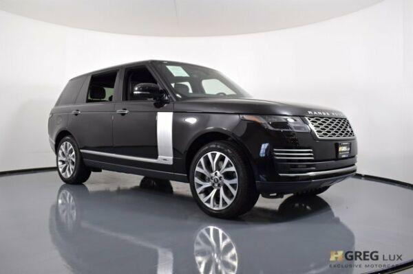 2020 Land Rover Range Rover Autobiography 2020 Land Rover Range Rover Autobiography Sport Utility Intercooled Supercharger